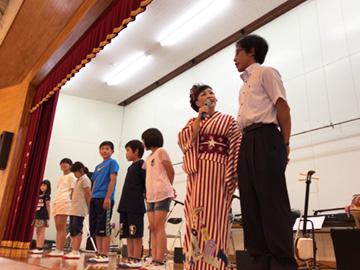 スクールコンサート in 対馬市立南小学校