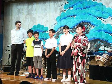 学校と地域を結ぶコンサート in 五ヶ瀬町町民センター