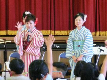 スクールコンサート in 対馬市立今里小学校