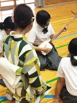 学校と地域を結ぶコンサート in 美郷町立美郷南学園