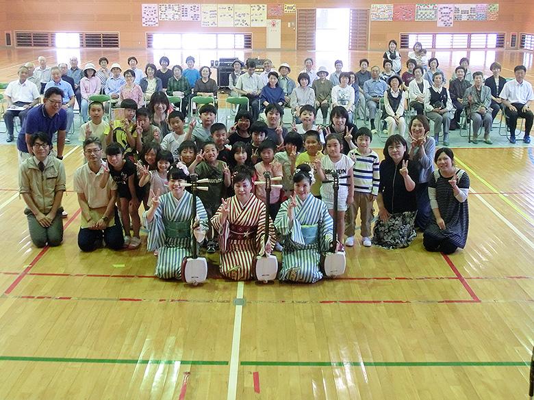 スクールコンサート in 対馬市立豊(とよ)小学校