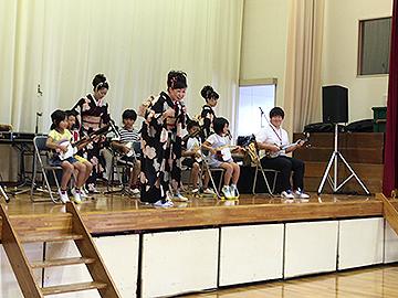 スクールコンサート in 西都市立茶臼原小学校