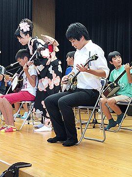 学校と地域を結ぶコンサート in 都城市立笛水小中学校