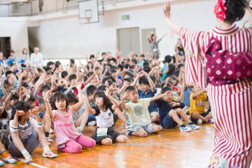 スクールコンサート in 対馬市立厳原(いづはら)小学校