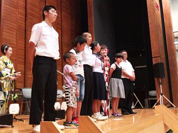 学校と地域を結ぶコンサート in 小林市立須木小学校・中学校