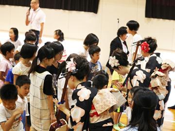 スクールコンサート in 宮崎市立古城小学校