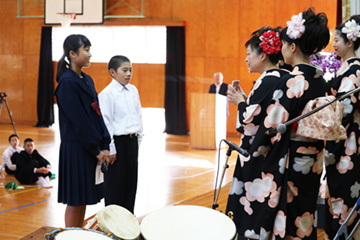 スクールコンサート in 宮崎市立住吉中学校