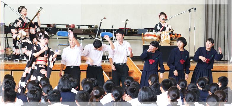 住吉 中学校