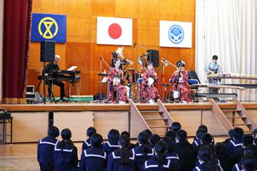 スクールコンサート和洋スペシャル in 宮崎市立檍中学校