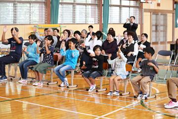 スクールコンサート in 対馬市立大調(おおつき)小学校