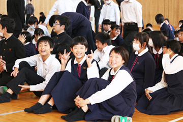 スクールコンサート in 小林市立東方中学校