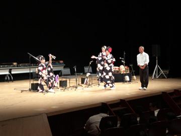 スクールコンサート in 宮崎県都城商業高等学校