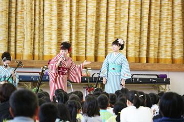 スクールコンサート in 壱岐市立盈科(えいか)小学校
