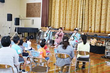 スクールコンサート in 壱岐市立初山(はつやま)小学校