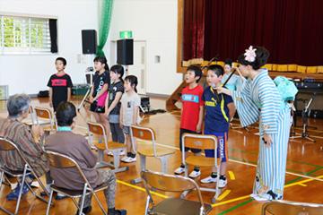 スクールコンサート in 壱岐市立三島(みしま)小学校