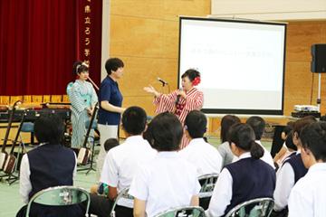 スクールコンサート in 長崎県立ろう学校