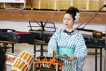 スクールコンサート in 壱岐市立筒城(つつき)小学校
