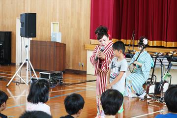 スクールコンサート in 壱岐市立八幡(やはた)小学校
