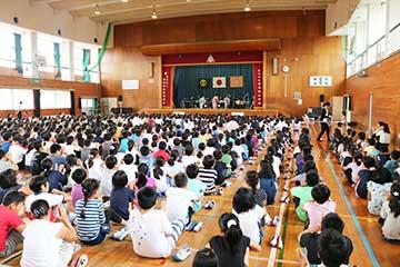 スクールコンサート in 宮崎市立宮崎南小学校 和洋スペシャル