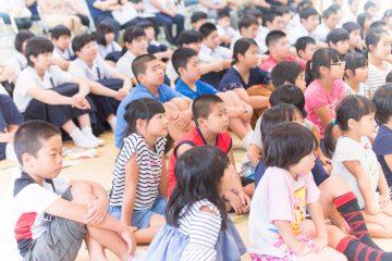 学校と地域を結ぶコンサート in 諸塚村