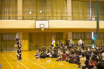 学校と地域を結ぶコンサートin日之影町