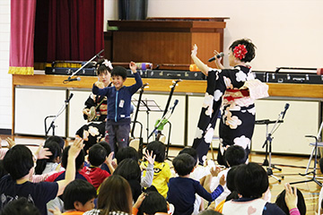 スクールコンサート in 壱岐市立箱崎小学校