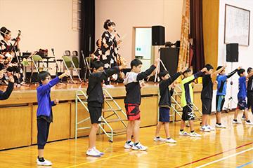 スクールコンサート in 壱岐市立石田小学校