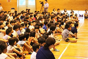 学校と地域を結ぶコンサートin串間市