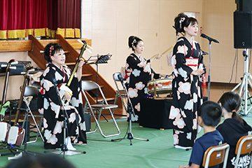 スクールコンサート in 壱岐市立那賀(なか)小学校