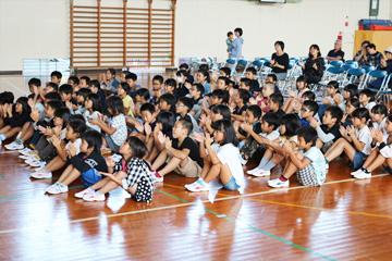 スクールコンサート in 壱岐市立瀬戸小学校
