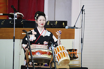 スクールコンサート in 壱岐市立霞翠小学校
