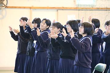 スクールコンサート in 高千穂町立田原中学校