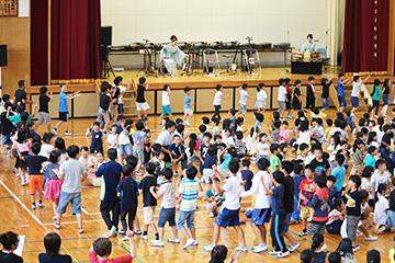 スクールコンサート in 佐世保市立大塔小学校