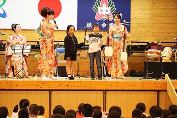 スクールコンサート in 紙屋(かみや)小学校・中学校