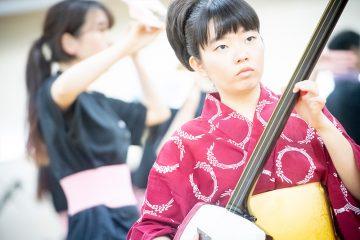 「伝統・未来音楽祭」レポート 舞台稽古編