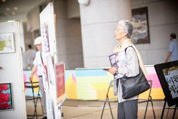 「伝統・未来音楽祭」レポート ロビー・ホワイエ編
