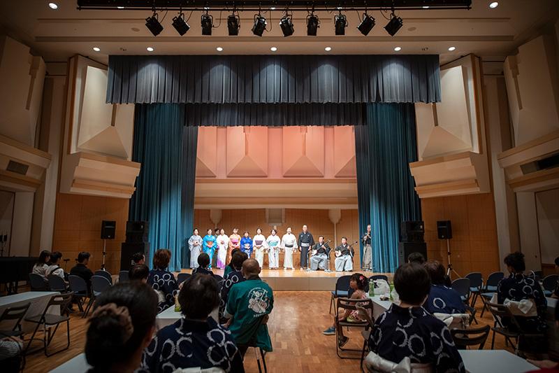 「伝統・未来音楽祭」レポート ふるさとの食と音・ココからマルシェ編
