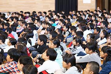 スクールコンサート in 佐世保市立福石小学校