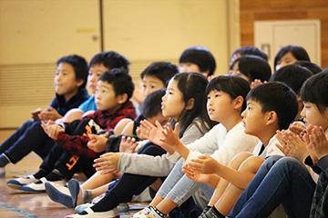 スクールコンサート in 佐世保市天神小学校