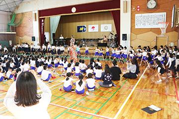 スクールコンサート in 門川町立門川小学校