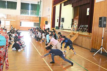 スクールコンサート in 都城市立安久小学校