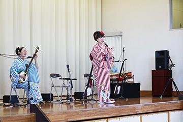 スクールコンサート in 西都立都於郡小学校