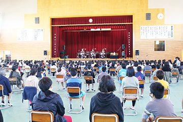 スクールコンサート in 都農町立都農南小学校